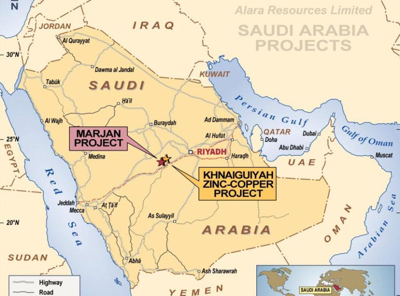 The Khnaiguiyah Zinc Copper Project