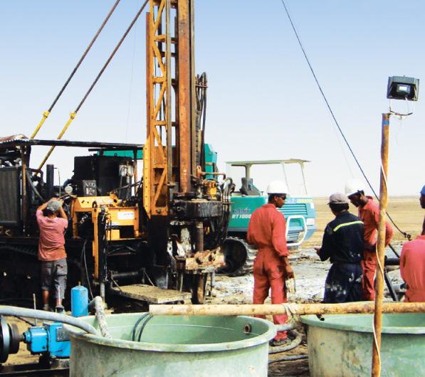 Colluli Potash Project Drilling Activity