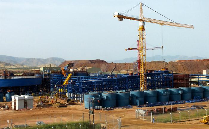 Bisha Main: Copper Phase Construction - Flotation Area