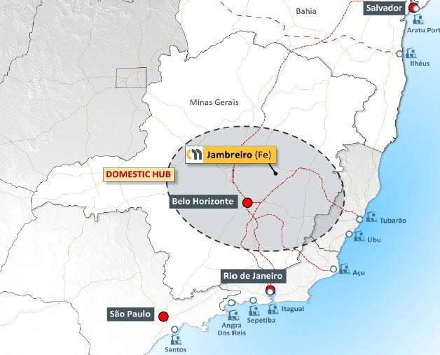 Centaurus Minerals receives Jambreiro mining licenses