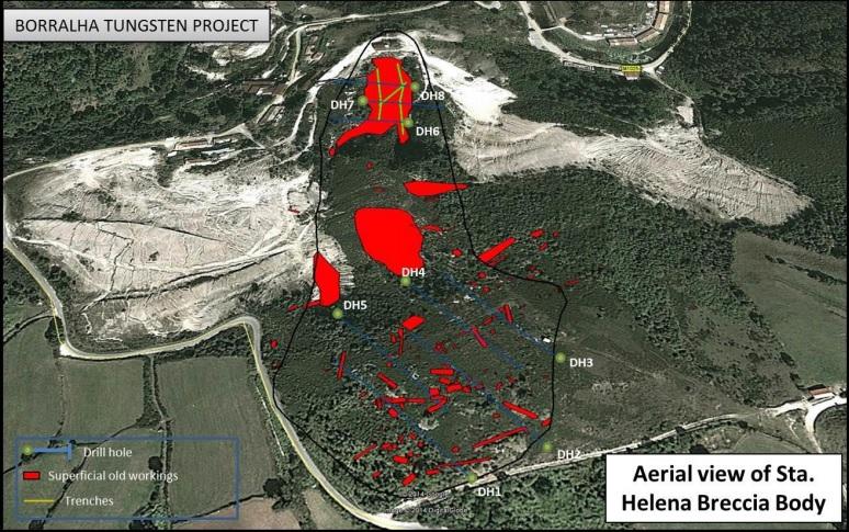 Blackheath finally releases first assay results from Borralha's Santa Helena zone