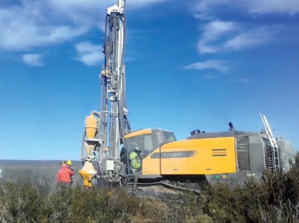 Drilling at Amarillo Grande