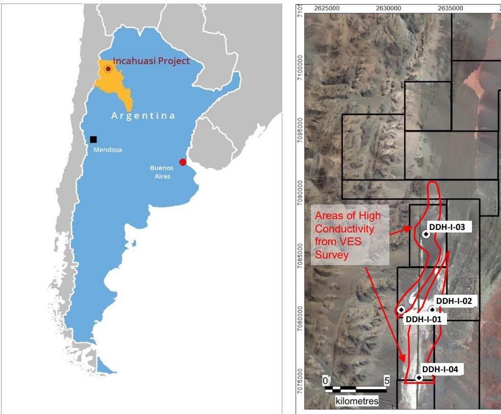 Argentina Lithium Incahuasi