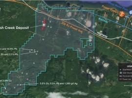 Callinex Mines plans a 20-40 hole drill campagin at Nash Creek