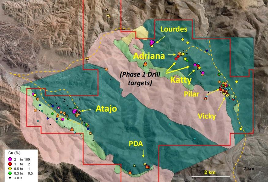 Camino Minerals COR Chapitos 1