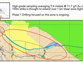 Drilling at Linderos confirms high-grade gold mineralization