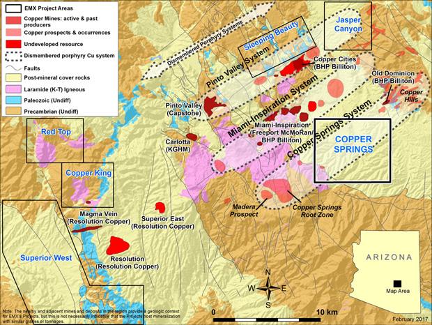 Eurasian Minerals EMXX Copper Springs 2