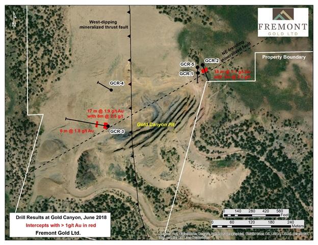 Fremont Gold Canyon Drills