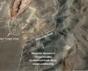 Google Earth View of Wind Mountain Pit & Feeder Target