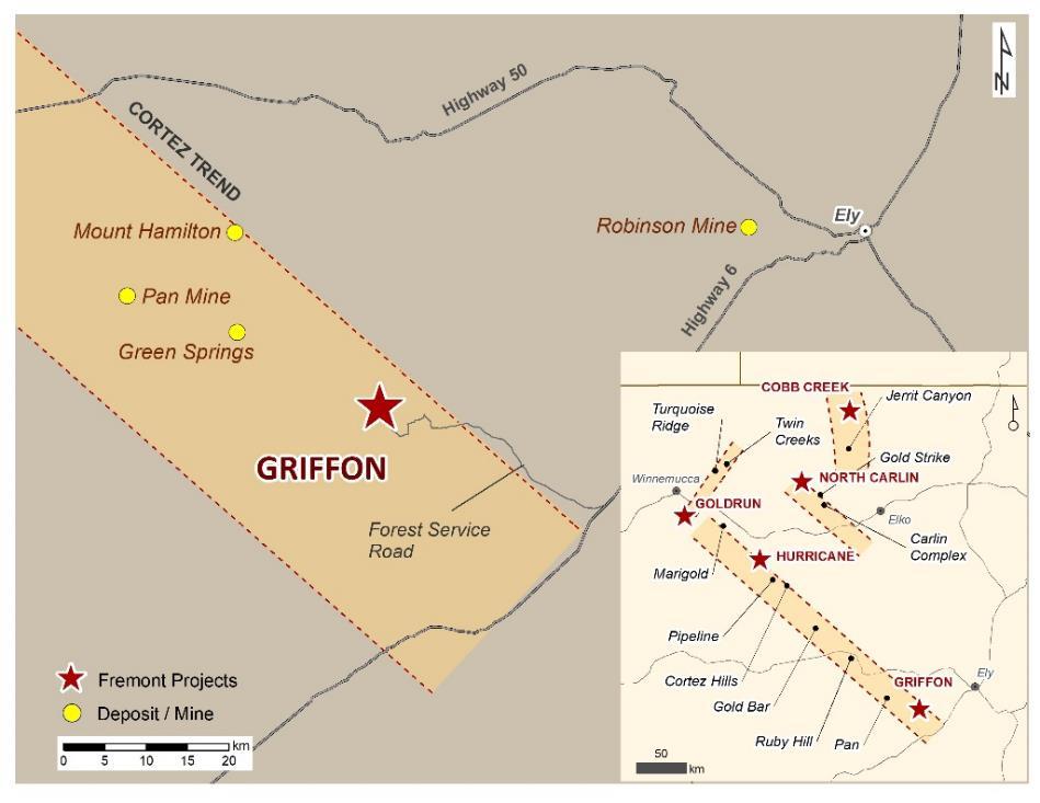 Griffon Location