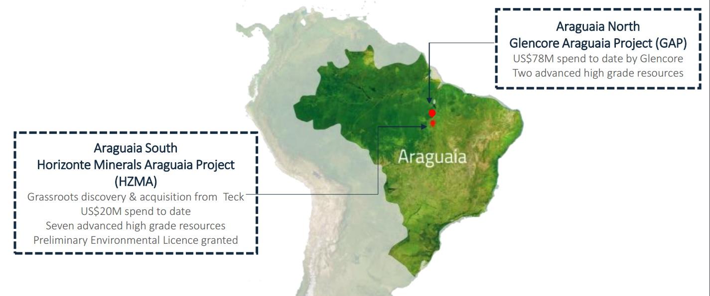 Horizonte Minerals HZM Araguaia Brazil