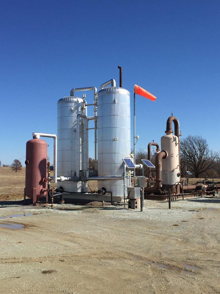 Oklahoma production site
