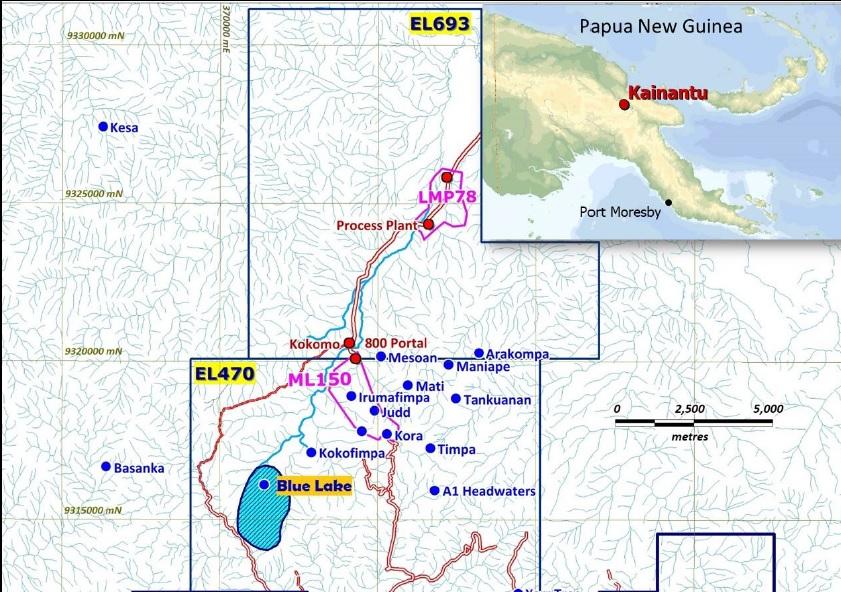 K92 Mining KNT Blue Lake 2