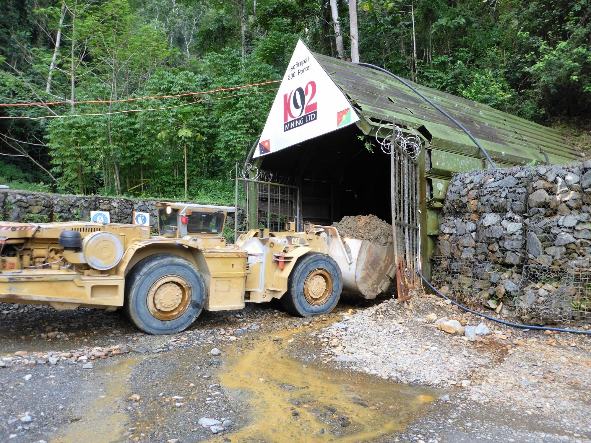 K92 Mining Kainantu KNT
