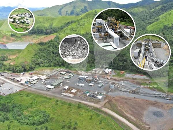 Kainantu Operation Site Circa 2012: Mill, Processing Plan & Offices