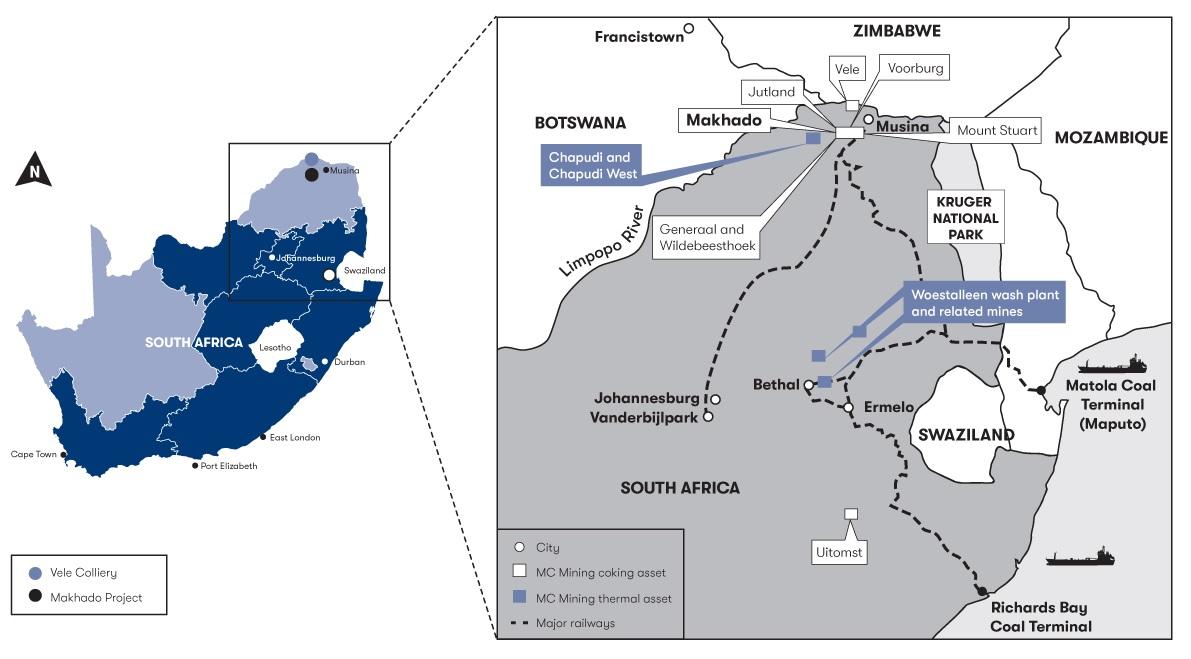 MC Mining Makhado 1