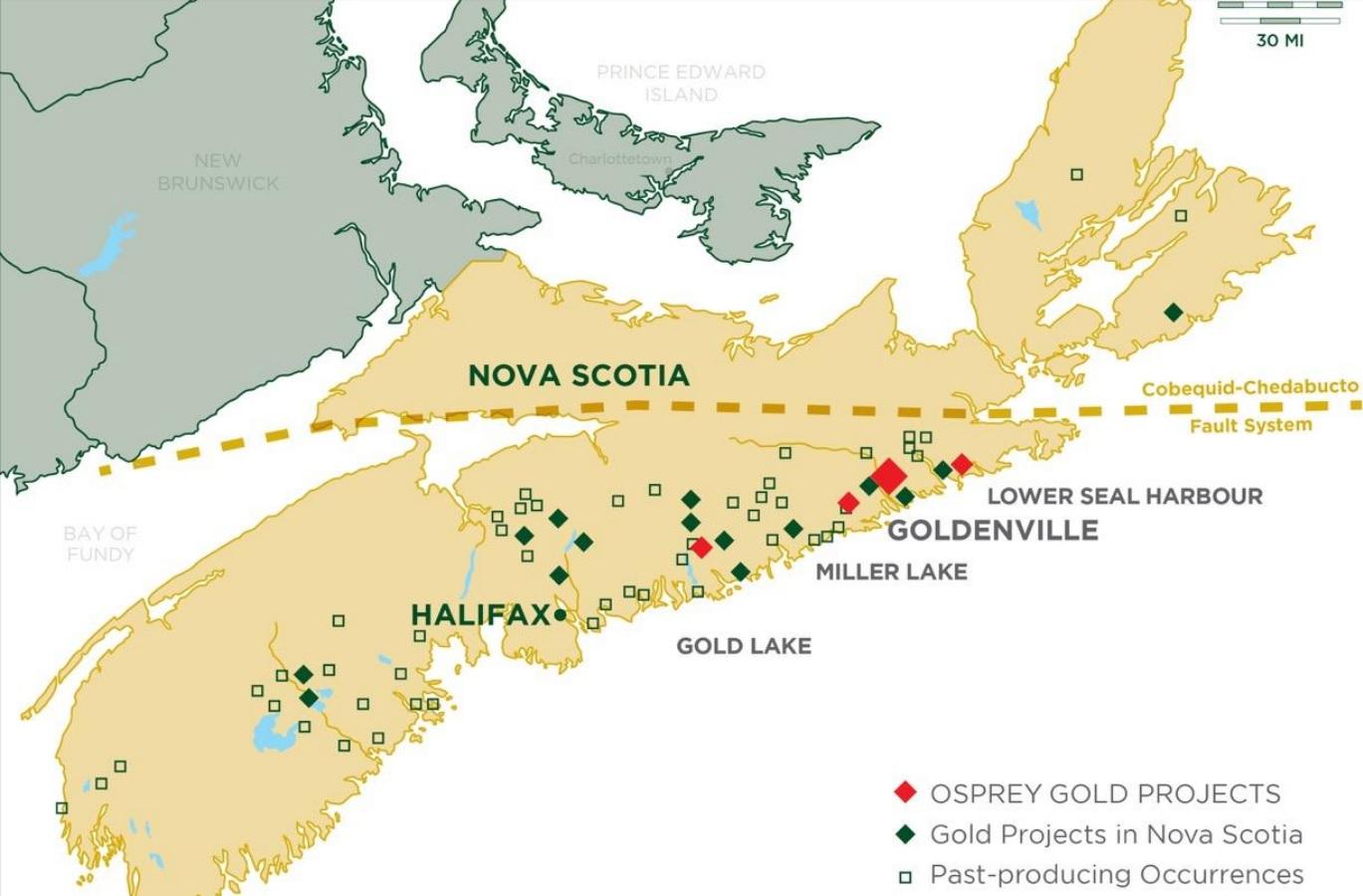 Osprey Gold OS Goldenville 2