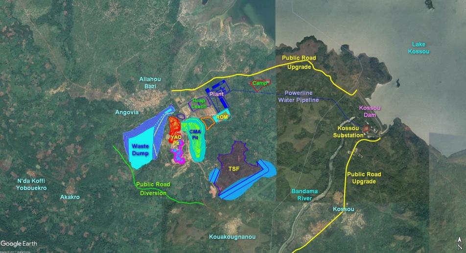 Perseus Mining Yaoure PRU 1