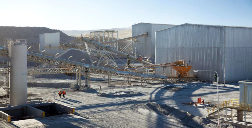 Pirquitas Mill Facility, Puna Operations, Argentina