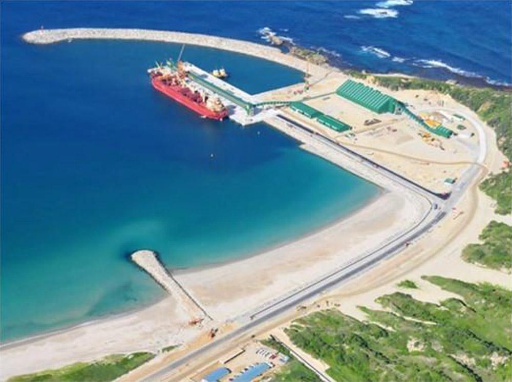 Port of Ehoala at Fort Dauphin
