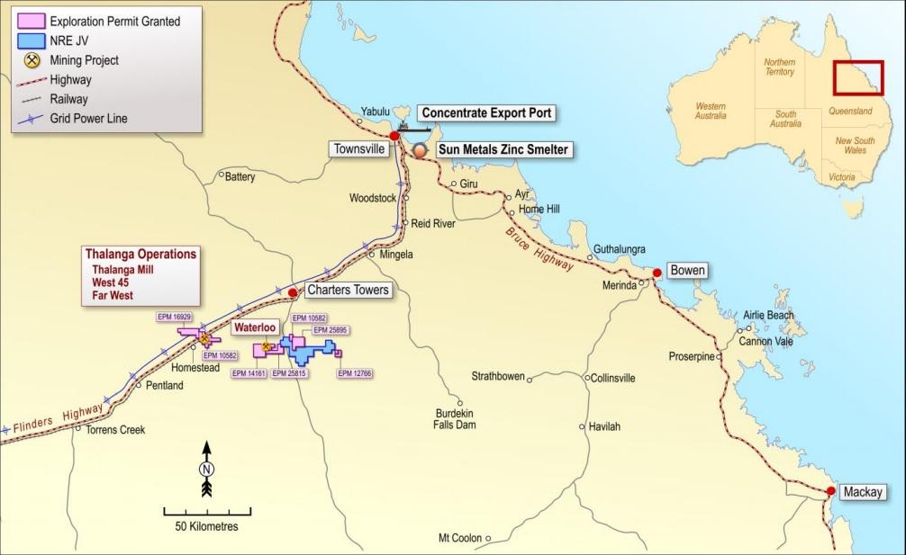 Red River Resources RVR Thalanga 2