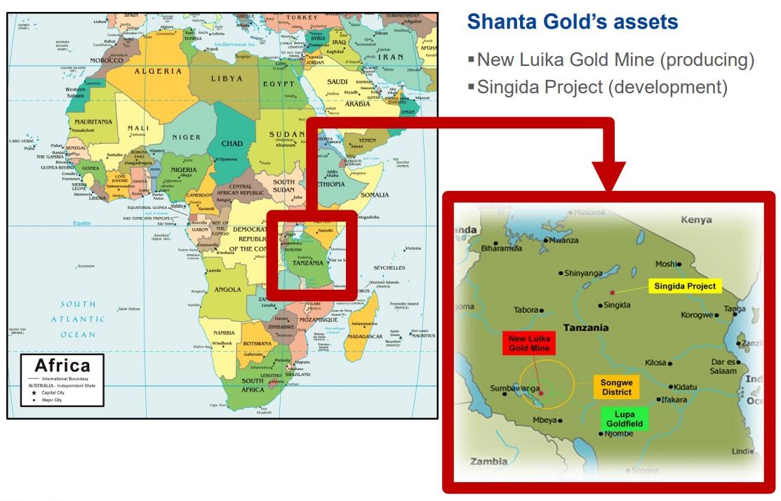 Shanta Gold SHG 2