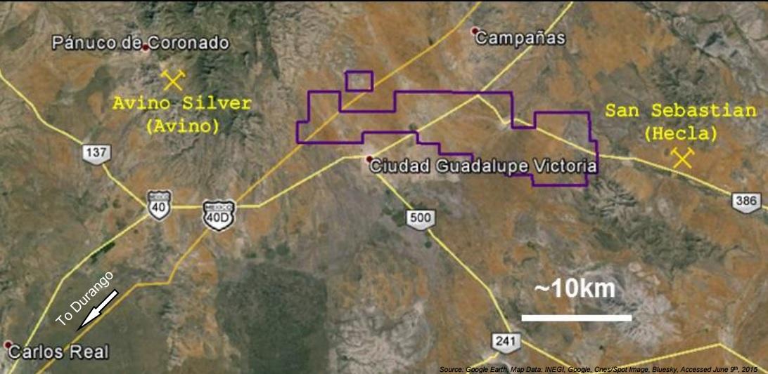 Southern Silver SSV Cerro Las Minitas 2