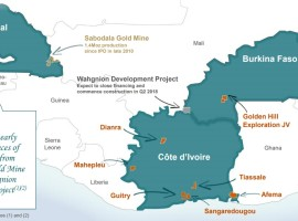 Teranga Gold plans to produce 215,000 ounces of gold in 2018