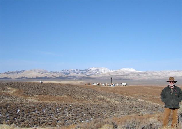 Drilling site, November 2016