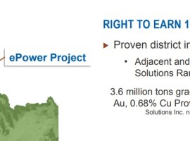ePower Metals completes Panther Creek exploration program