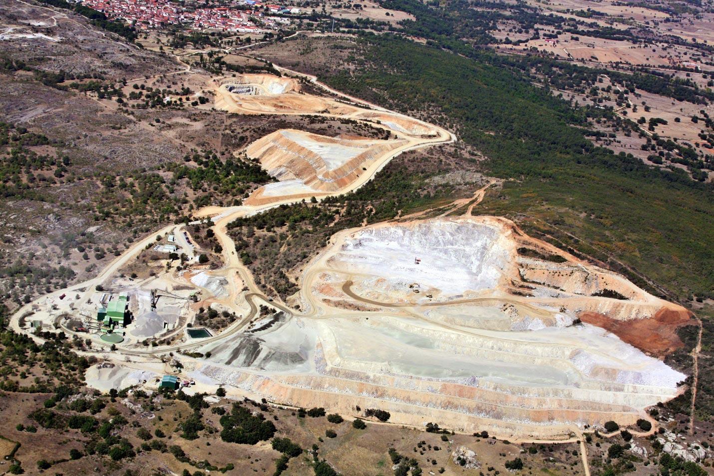 Los Santos Mine, Spain