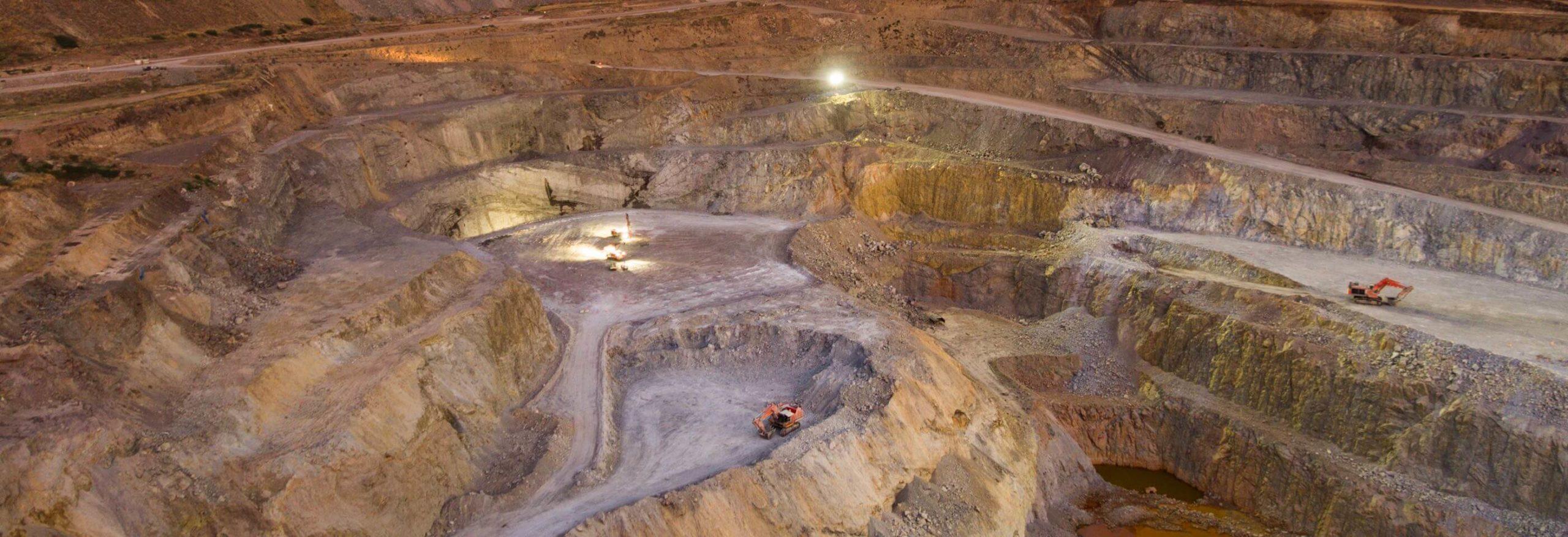 Mt Carlton in Queensland, Australia - Evolution Mining